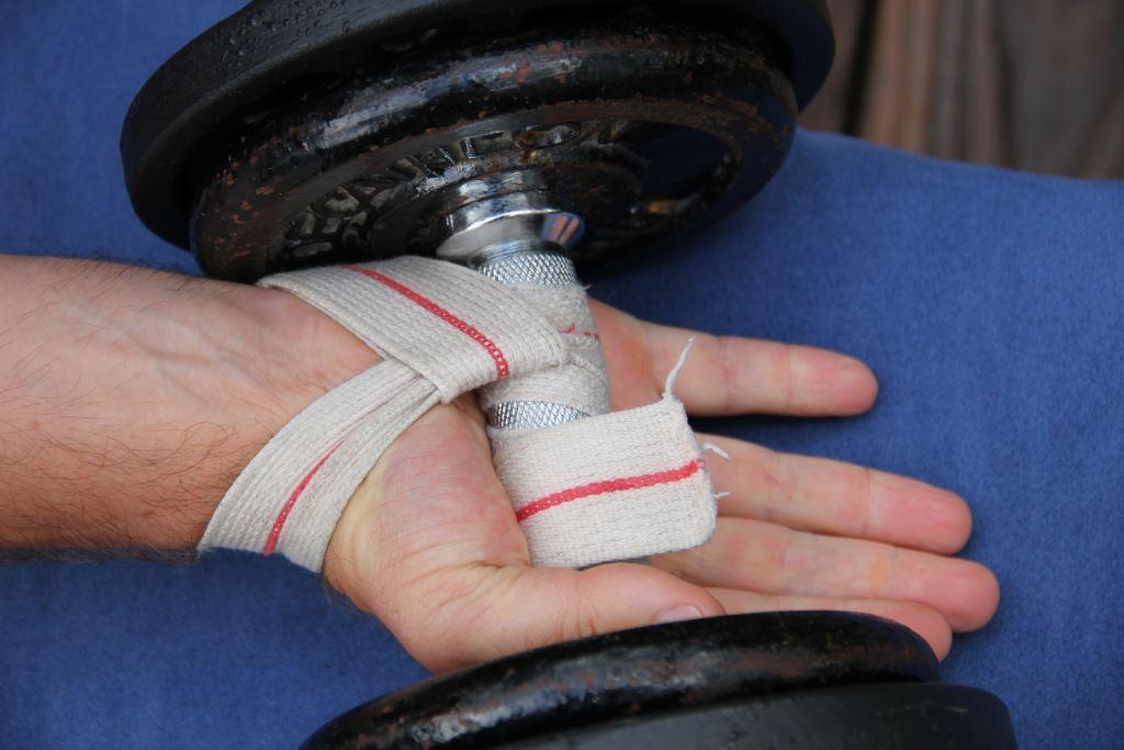 Sangles de tirage pour la musculation