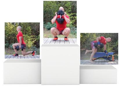Super Exercices avec haltères