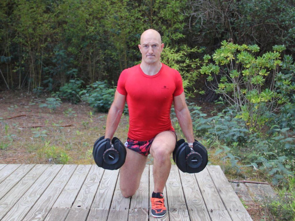 Musculation avec haltères (Fabrice Proudhon)